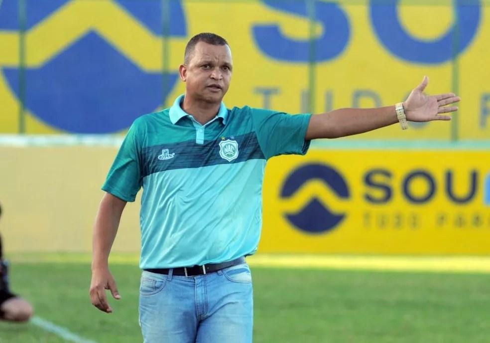 W9 já foi campeão paraibano por Treze, Campinense e Botafogo-PB, e agora quer mais um título, dessa vez como técnico — Foto: Joab Medeiros / Nacional-PB