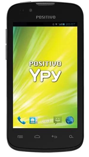 Smartphone Ypy S400 tem tela de 4 polegadas e roda o sistema Android 4.0 (Foto: Divulgação)