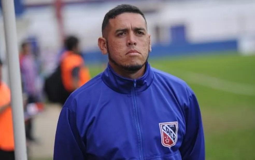 Felipe Romário é o novo técnico do Vilhenense — Foto: Divulgação