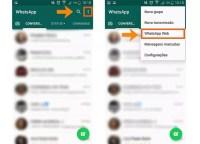 Acesse as configurações do WhatsApp Web no seu celular (Foto: Reprodução/Barbara Mannara)