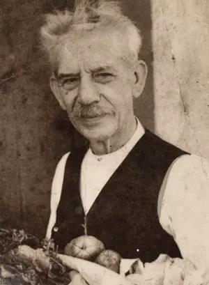 Retrato do fotógrafo Valério Vieira em 1938 (Foto: Reprodução de 'Valério Vieira: um artista e seu mundo' [pós-graduação em História da Arte, Faap], de Sonia Balady)