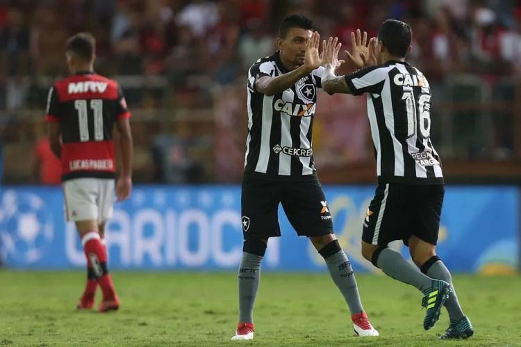 Kieza será titular nesta quinta-feira, contra o Nova Iguaçu (Foto: Vitor Silva / SSpress / Botafogo)