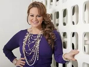 A cantora mexicana Jenni Rivera, em foto de março de 2012 (Foto: Reed Saxon/AP)
