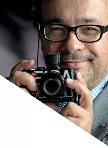 Quando dava aulas, Kaufmann queria mudar o mundo:  mudou, pelo menos em parte, o mundo  da fotografia (Foto: Divulgação)