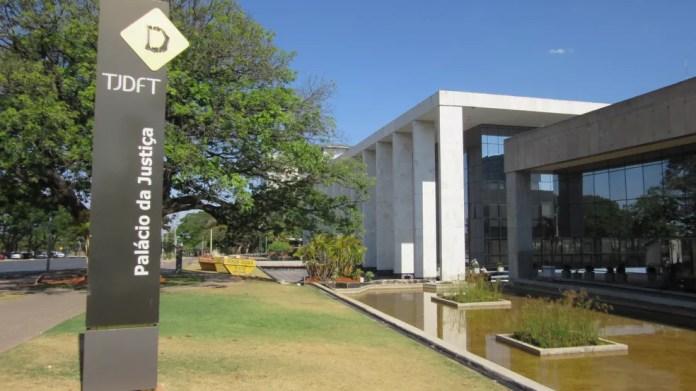Tribunal de Justiça do Distrito Federal (Foto: Raquel Morais/G1)
