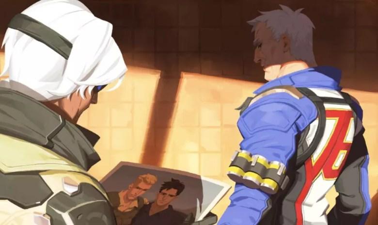 Soldado 76 revela namorado do passado em 'Overwatch' — Foto: Divulgação/Blizzard Entertainment