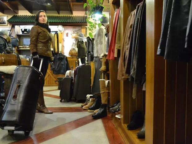 Mercado de Luxo Campos do Jordão Especial de Inverno (Foto: Filipe Rodrigues/G1)