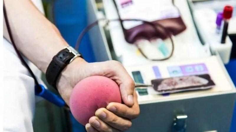 Doação de sangue — Foto: Getty Images via BBC