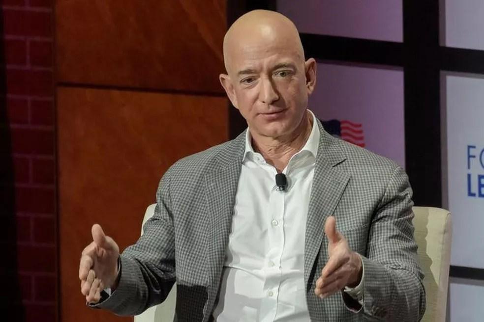 Jeff Bezos — Foto: Rex Curry/Reuters