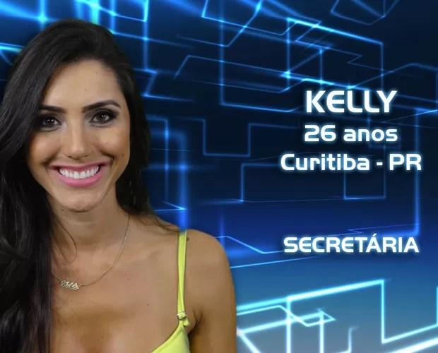 Kelly (Foto: Reprodução/TV Globo)