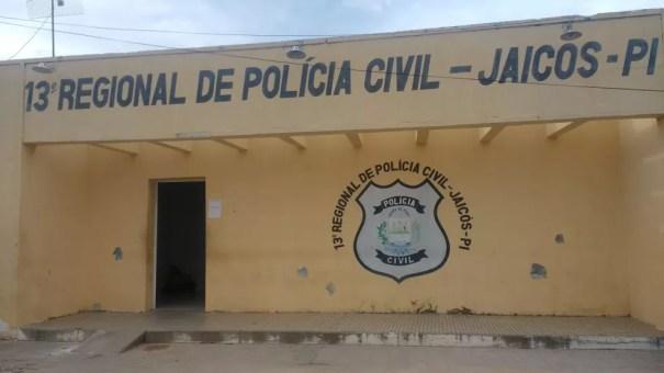 A delegacia de Jaicós acompanha o caso — Foto: Divulgação / PC