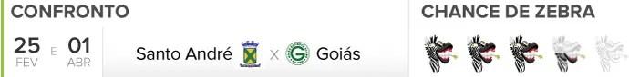 Zebrometro Santo Andre x Goias (Foto: infoesporte)