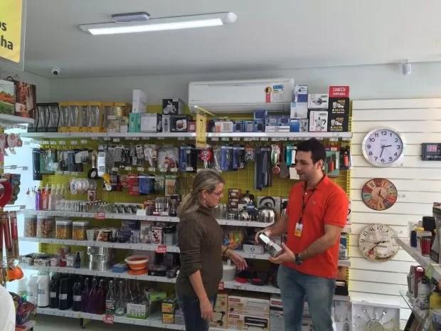 Loja de Renan foi aberta há dois meses (Foto: Renan Martinelli Ribeiro/Divulgação)