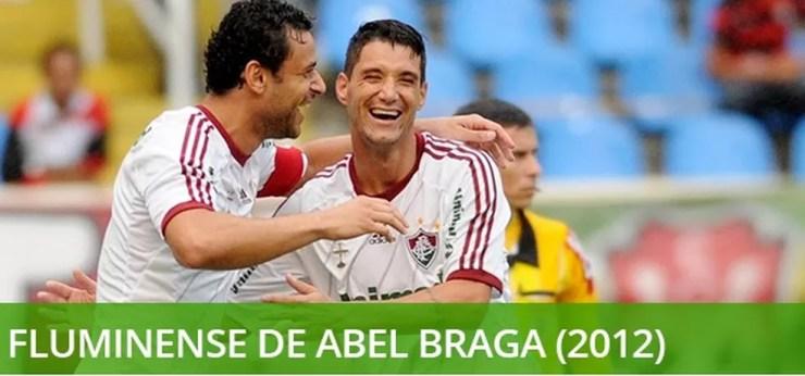 Melhores times século Fluminense 2012 — Foto: Info Esporte
