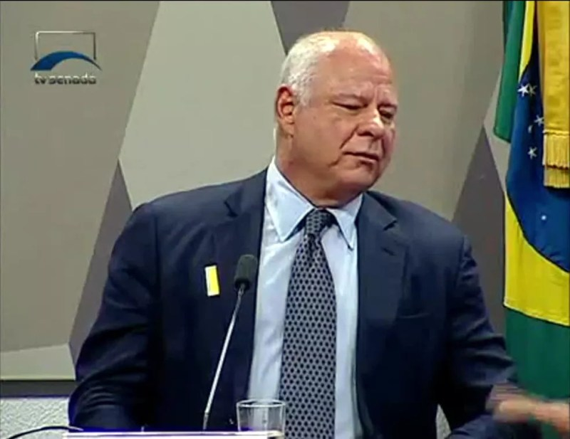 Miguel Iskin, alvo da Operação Fatura Exposta (Foto: Reprodução/TV Senado)