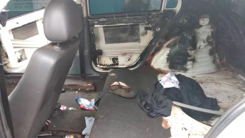 Veículo tem mais de 240 multas pendentes, de acordo com a PRF — Foto: Divulgação/PRF