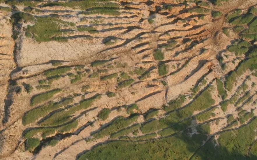 Erosão do solo na região de Piracicaba, no interior de São Paulo (Foto: Ana Paula Hirama - Wikimedia Commons)