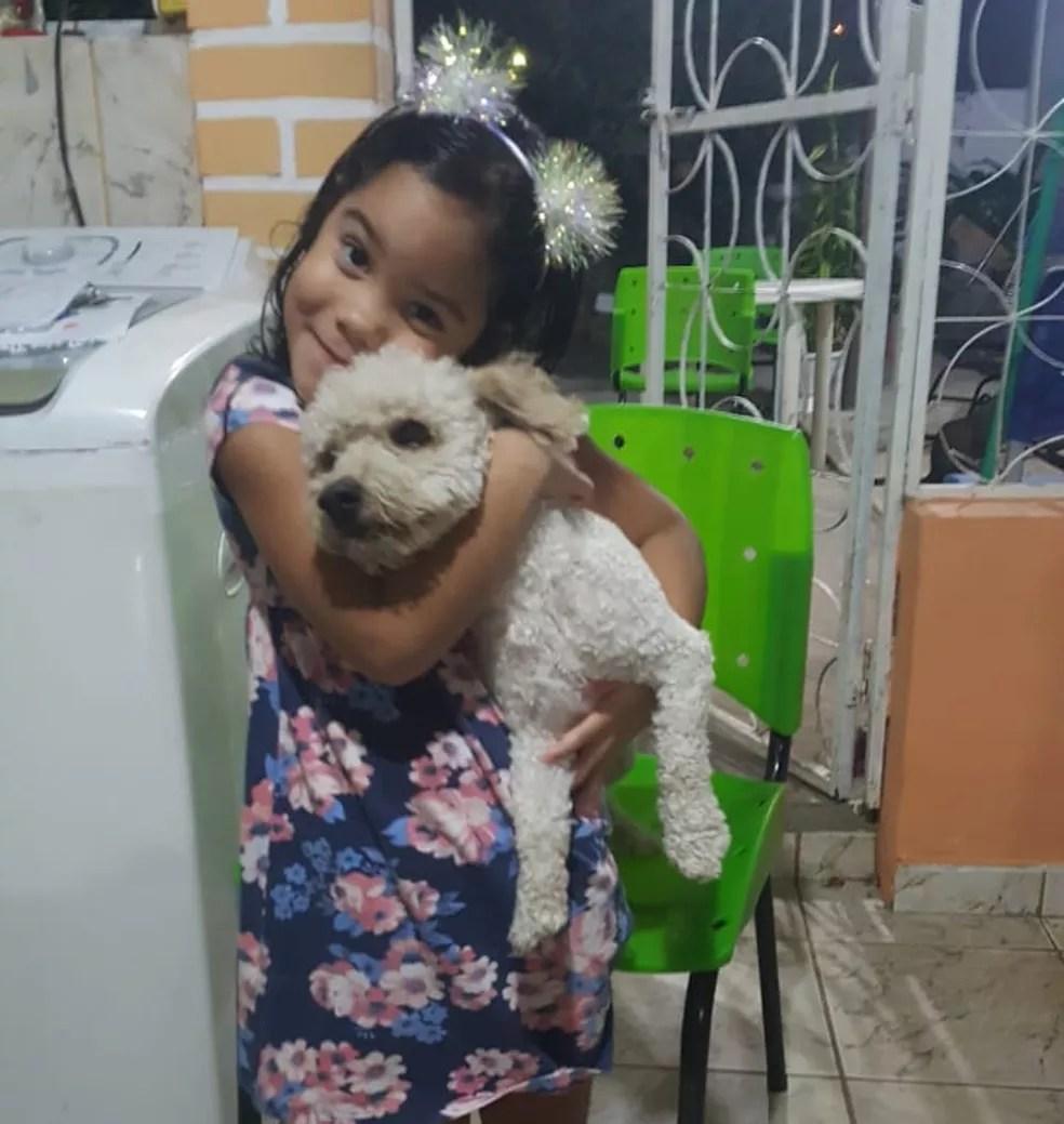 Belo foi achado por uma moradora do bairro e entregue à Maria Luiza — Foto: Arquivo Pessoal