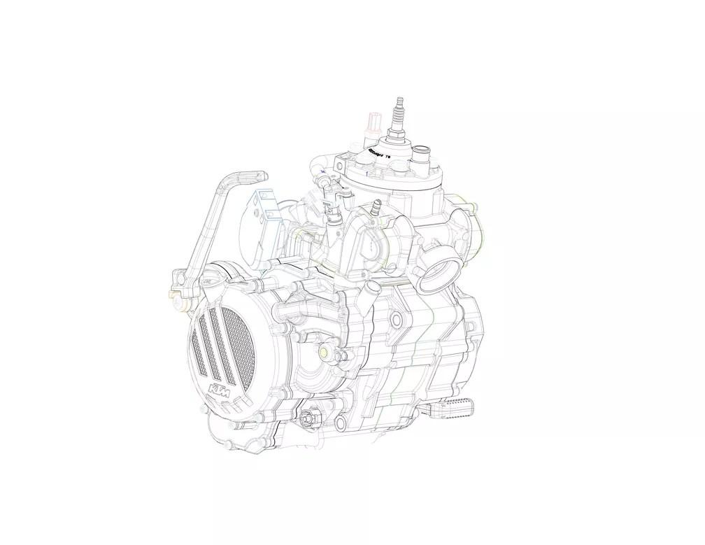 KTM terá motor 2 tempos com injeção eletrônica para motos