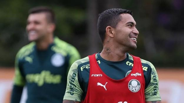Dudu tem contrato com o Palmeiras até 2023 — Foto: Cesar Greco / Ag. Palmeiras