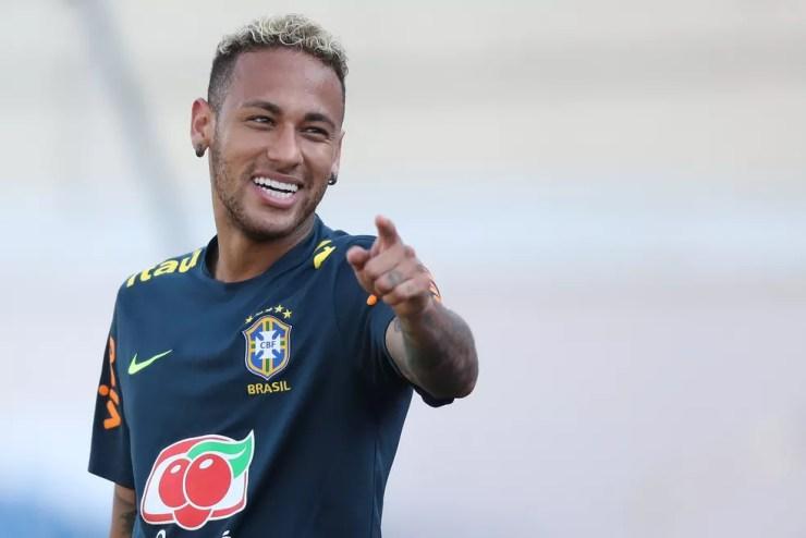Neymar será mais uma vez titular na Seleção nesta quarta (Foto: Lucas Figueiredo/CBF)