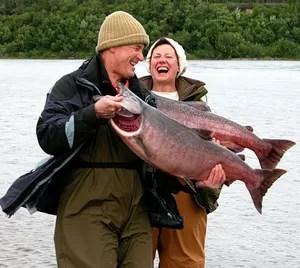 pescadores de salão no alasca (Foto: Getty Images)