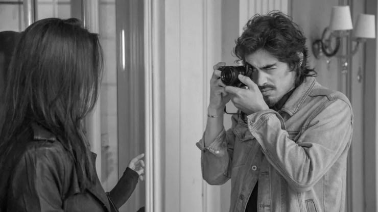 Vinícius é um apaixonado pela fotografia (e pela Bia) (Foto: Paulo Damasceno / Gshow)