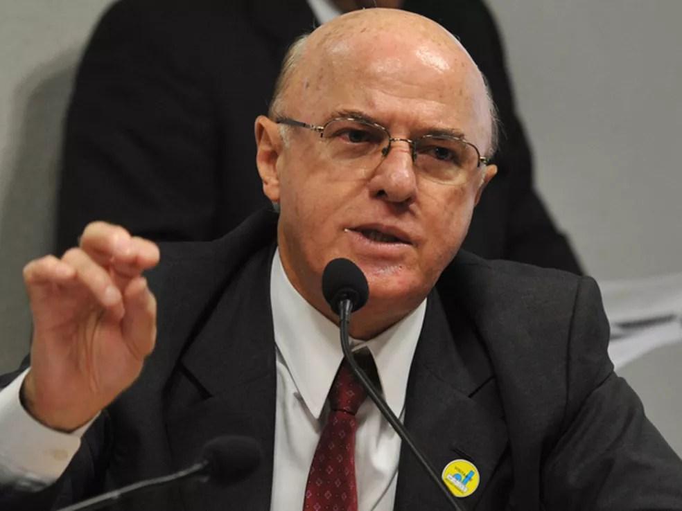 Othon Luiz participou, em 2011, de audiência no Senado para discutir o sistema de energia nuclear do país — Foto: Antonio Cruz/ABr