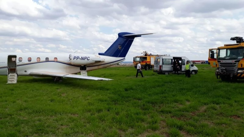 Incidente aconteceu na tarde deste domingo (15) (Foto: Fotos cedidas Tuia do Paraná)