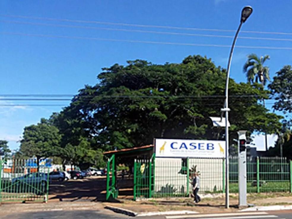 Fachada do Caseb, na Asa Sul — Foto: Luciana Amaral/G1