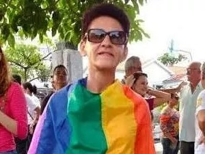 Professora que luta contra lesbofobia na Paraíba (Foto: Ângela Chaves/Arquivo Pessoal)