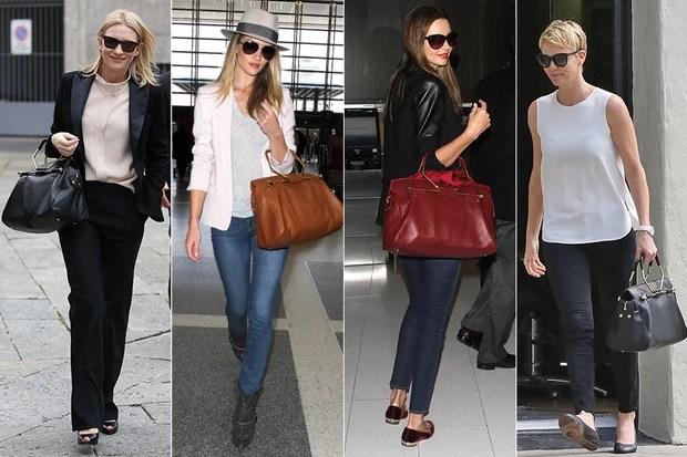 Bolsa Bombette - Cate Blanchett, Rosie Huntington, Miranda Kerr e Charlize Theron (Foto: Splash News   Grosby Group   Honopix)