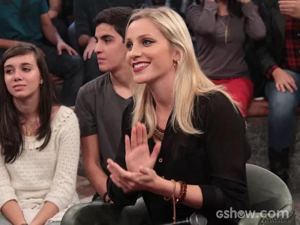 Fernanda Colombo participa do programa Altas Horas deste sábado (Foto: TV Globo/Altas Horas)