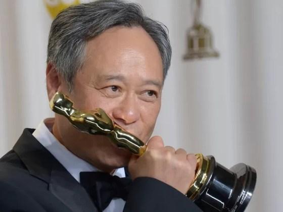 Ang Lee venceu o Oscar de Melhor Diretor por 'As aventuras de Pi' (Foto: AFP PHOTO / JOE KLAMAR)