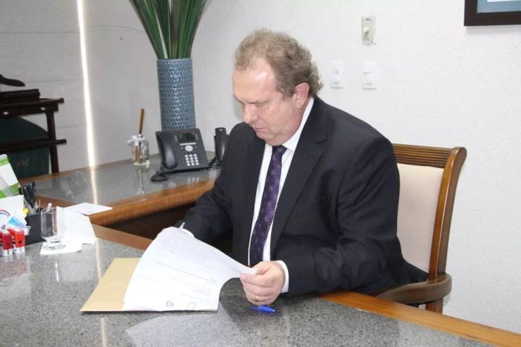 Mauro Carlesse foi eleito governador do Tocantins (Foto: Assessoria/Divulgação)