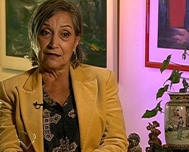 Neusa Dutra relata que ficou com vergonha ao saber da homossexualidade do filho (Foto: Mais Você / TV Globo)