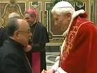 'Grazie', diz Papa Bento XVI a cardeal brasileiro em sua última audiência