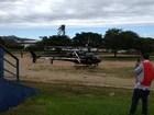 Após briga simulada, teste para Copa tem resgate em helicóptero no RS