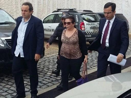Rita Mercês foi presa na Operação Dama de Espadas (Foto: Sérgio Henrique Santos/Inter TV Cabugi)
