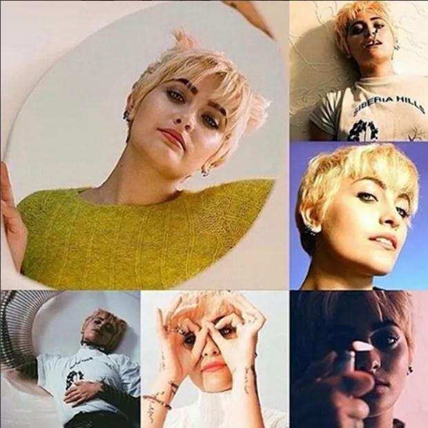 Paris Jackson nas fotos para a Dull Magazine (Foto: Reprodução)