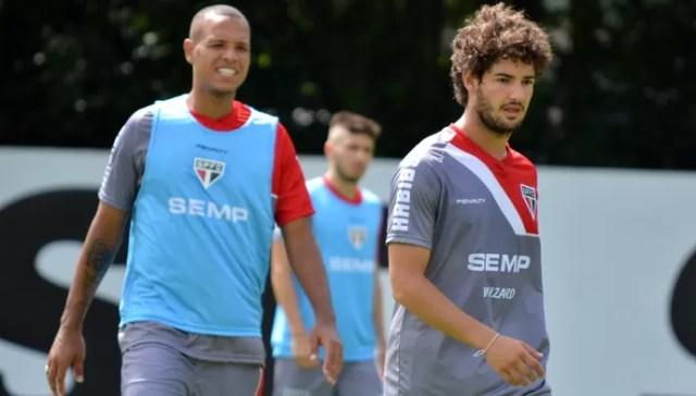 Pato Luis Fabiano (Foto: site oficial / saopaulofc.net)