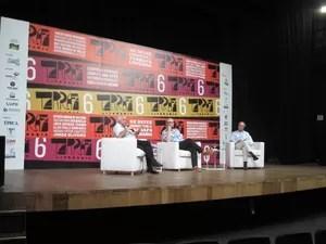 Tarrafa Literária reúne grandes autores da literatura em Santos, SP (Foto: Mariane Rossi / G1)
