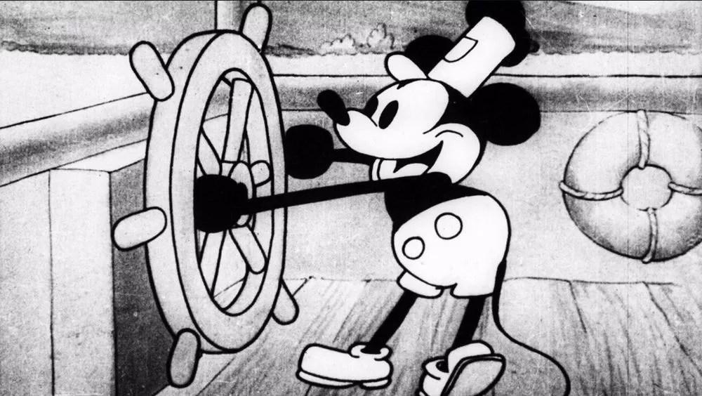 Steamboat Willie (Foto: Reprodução/Disney)