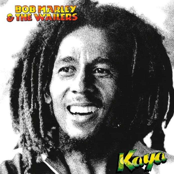 Álbum 'Kaya', de Bob Marley & the Wailers - 1978 — Foto: Reprodução