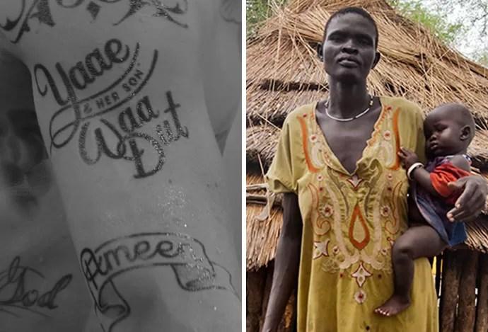 50 Tons De Ibra Nomes Tatuados Em Campanha Contra A Fome Têm Rostos