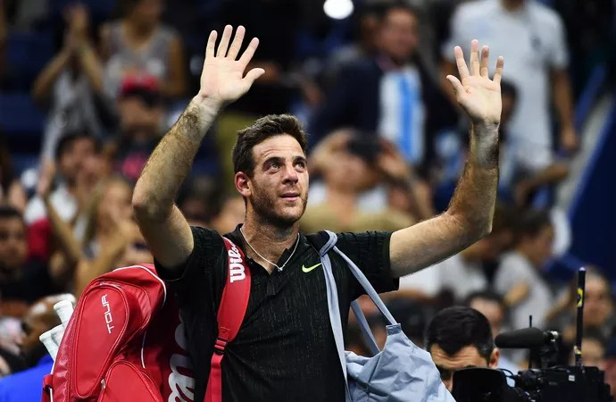 Juan Martin Del Potro, the 2009 US Open Champion, still has work to do before getting back to his best