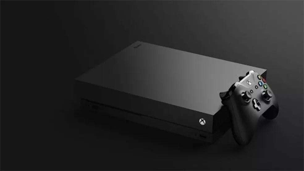 Microsoft enfatizou os 6 teraflops de capacidade como grande diferencial do Xbox One X (Foto: Divulgação/Microsoft)