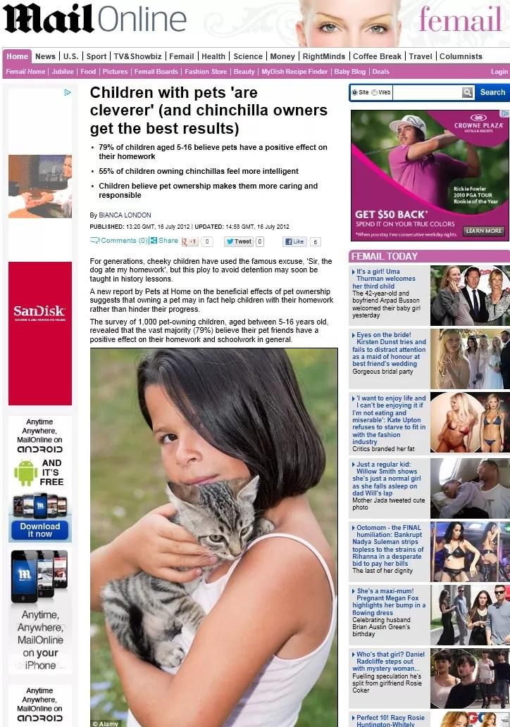 Animais (Foto: Daily Mail/Reprodução)