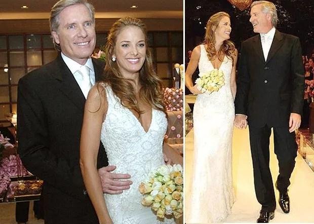 Compare os vestidos de noiva de Ticiane Pinheiro  Marie