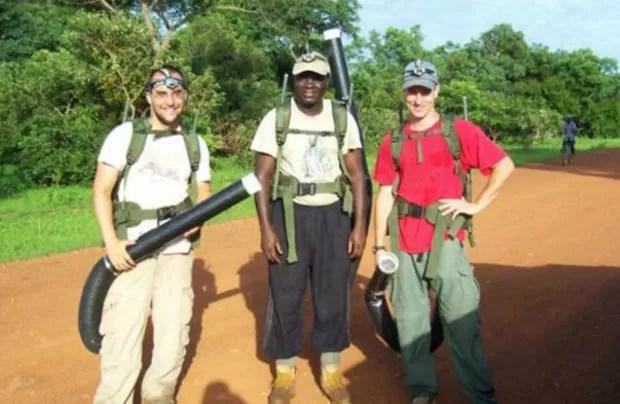 O americano contraiu o vírus na África, em 2008  (Foto: Brian Foy/Arquivo pessoal)